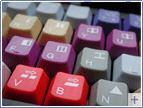eine farbige Videoschnitt-Tatstatur gibt es mit jeder Videostation