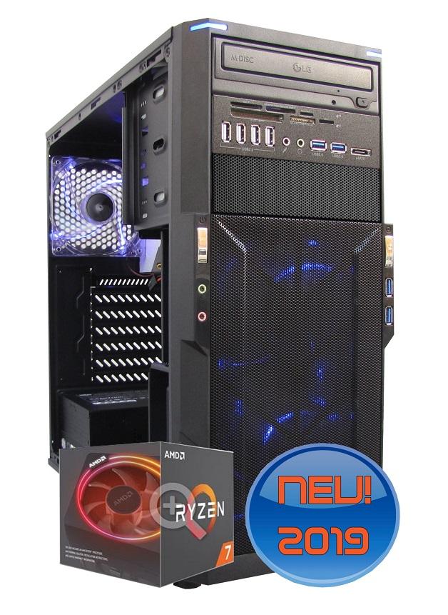 VIDEOSTATION®  Montaña   AMD ECO HSS 6 Kerne - (Modell 2021) Abbildung kann abweichen.