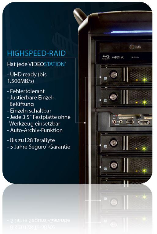 VIDEOSTATION y RAID